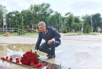 Вячеслав Володин в Летном городке г. Энгельс
