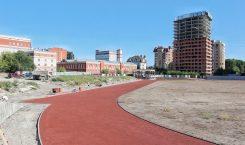 Председатель ГД осмотрел ход работ на стадионе «Спартак»